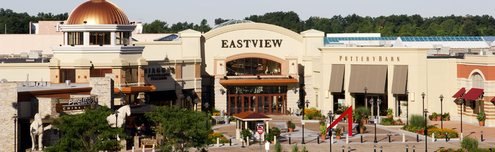 Eastview Mall - Victor, NY - Mall When you are in the Rochester, NY area and are looking for a place to go shopping, you want to visit the Eastview Mall in Victor. This large Mall is not far from the junction of I and I, and is actually on Route